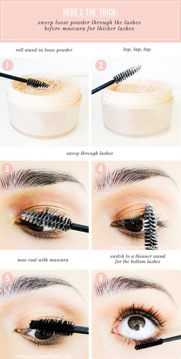 How To Get Thicker Eyelashes.
