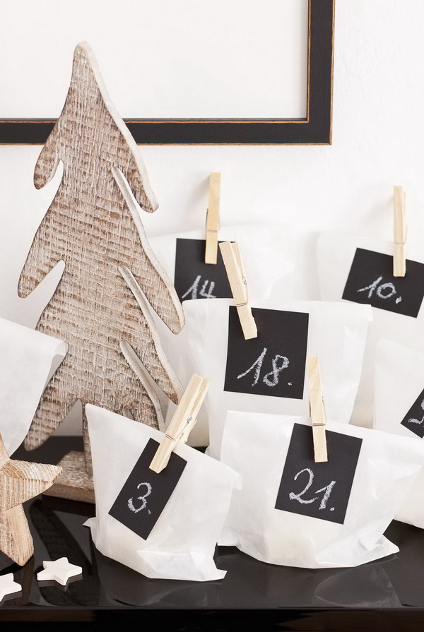 Little Baggies Advent Calendar.