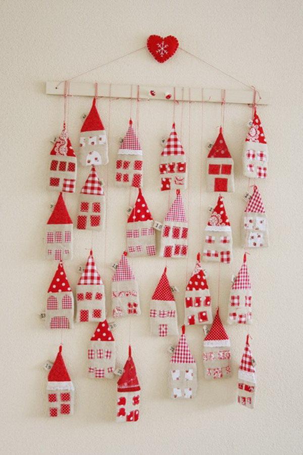 Little Fabric Houses Advent Calendar.