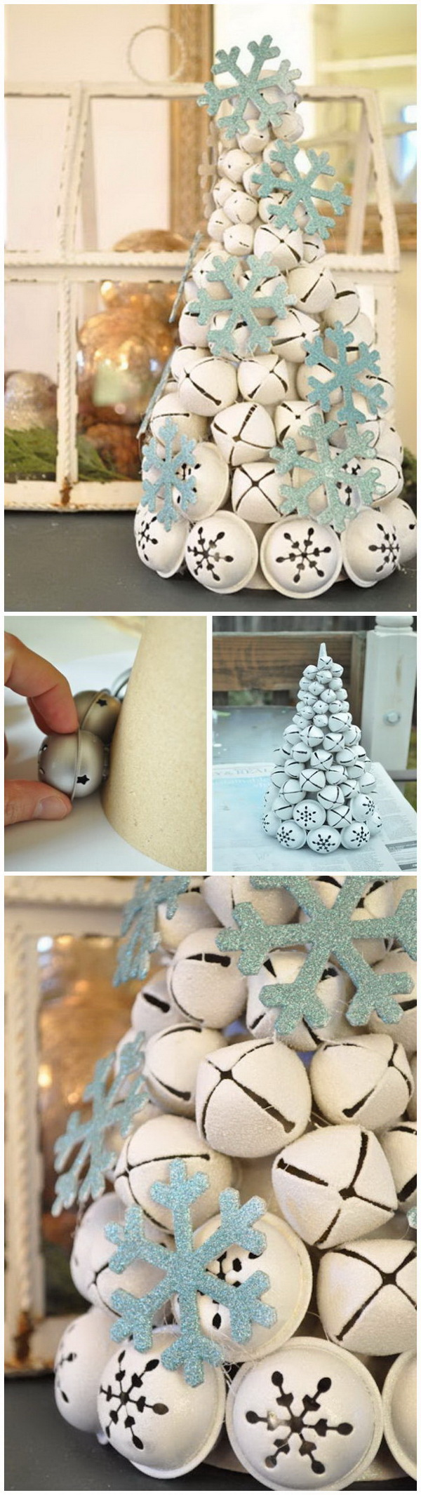 DIY Jingle Bell Tree.