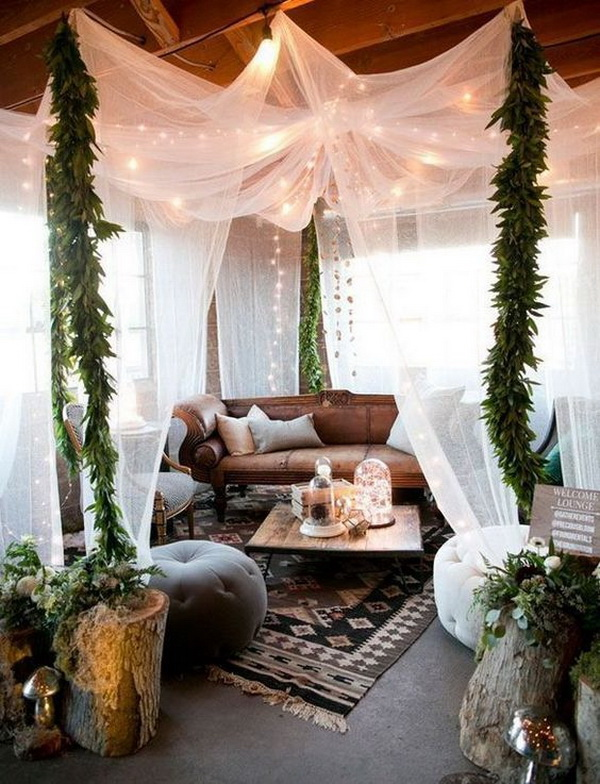 Bohemian home decor ideas.
