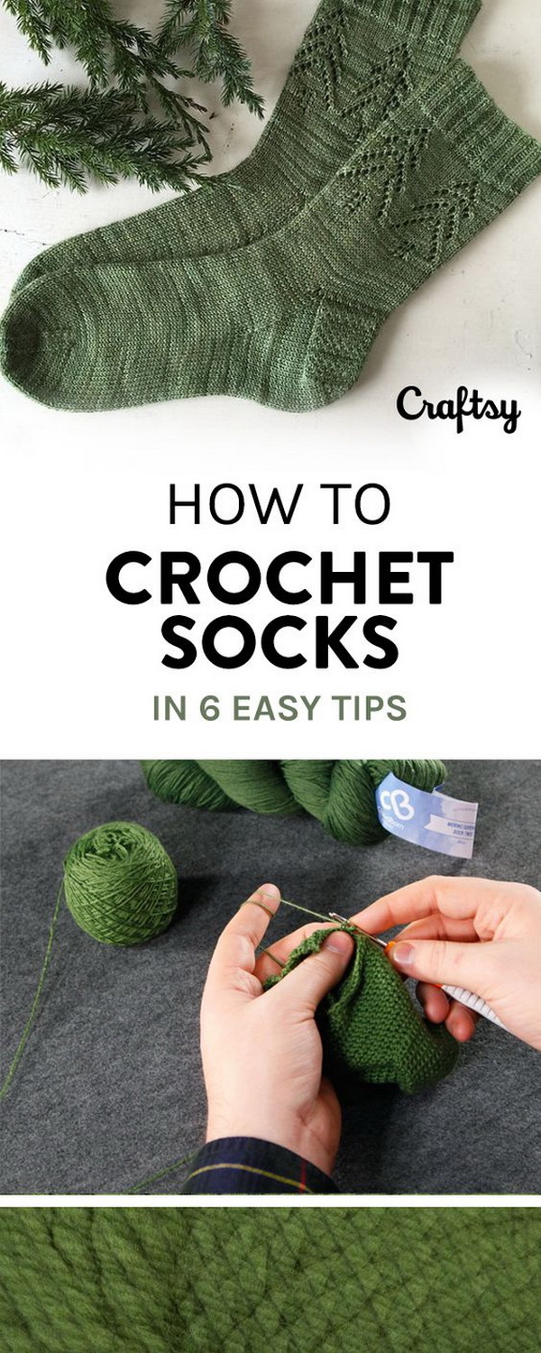 Crochet Socks. These basic crocheted socks are great to make even for beginners. It is a very rewarding way to expand to your crochet skills! Keep your toes warm with this free crochet pattern for socks during the cold winter months!