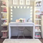 35 Beautiful Makeup Vanity Ideas For Creative Juice