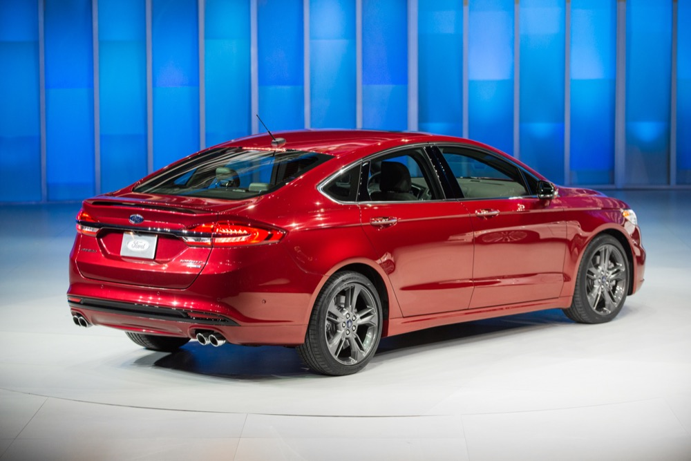 2017 Ford Fusion Unveiled Ahead Of Detroit Ford Authority