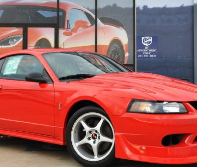 Brand New 2000 Ford Mustang Cobra R For Sale On Ebay