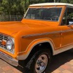 Rare Bold Orange 1974 Ford Bronco Is One Of Just 264 Produced