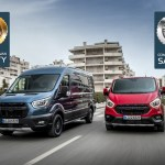 Ford Transit Transit Custom Awarded By Euro Ncap For Active Safety