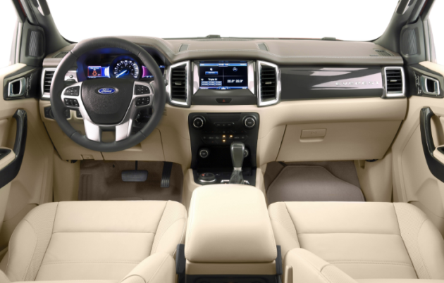 2019 Ford Bronco Interior