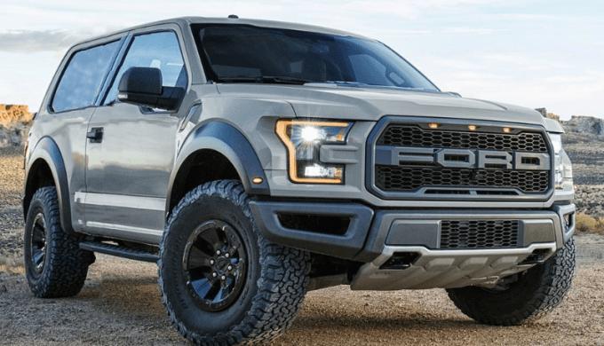 2019 Bronco Exterior