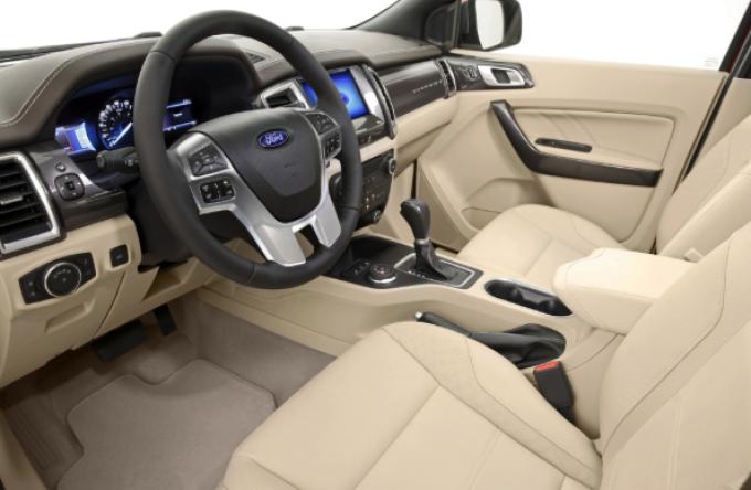 2019 Bronco Interior