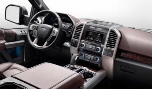 2019 Ford Excursion Interior