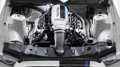 2021 Ford GT500 Engine