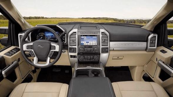 2019 Ford Super Duty Interior