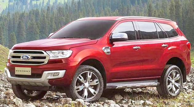 2020 Ford Everest Exterior