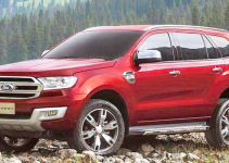 2020 Ford Everest Exterior