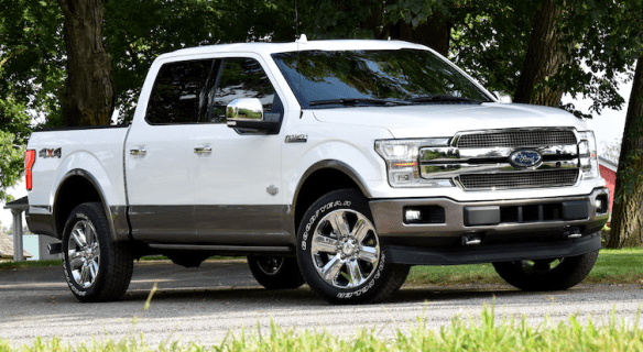 2020 Ford Pickup Exterior