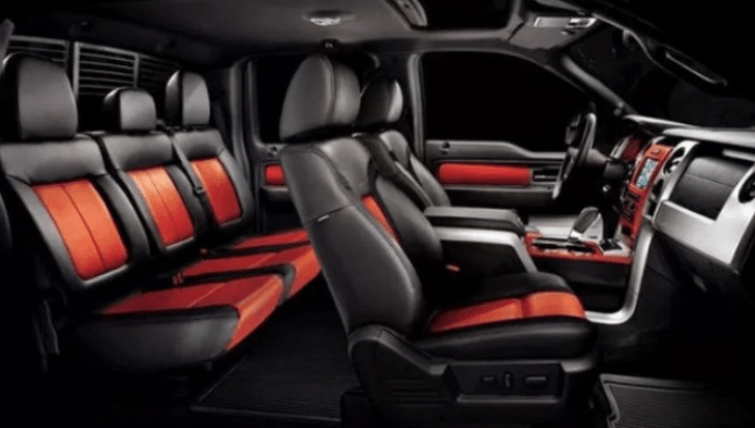 2020 Ford F150 Raptor Interior