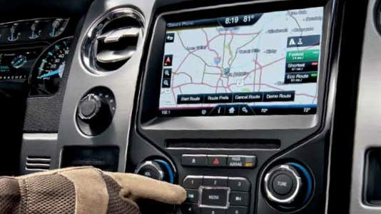 MyFord Touch MFT Overview Ford F 150 Blog