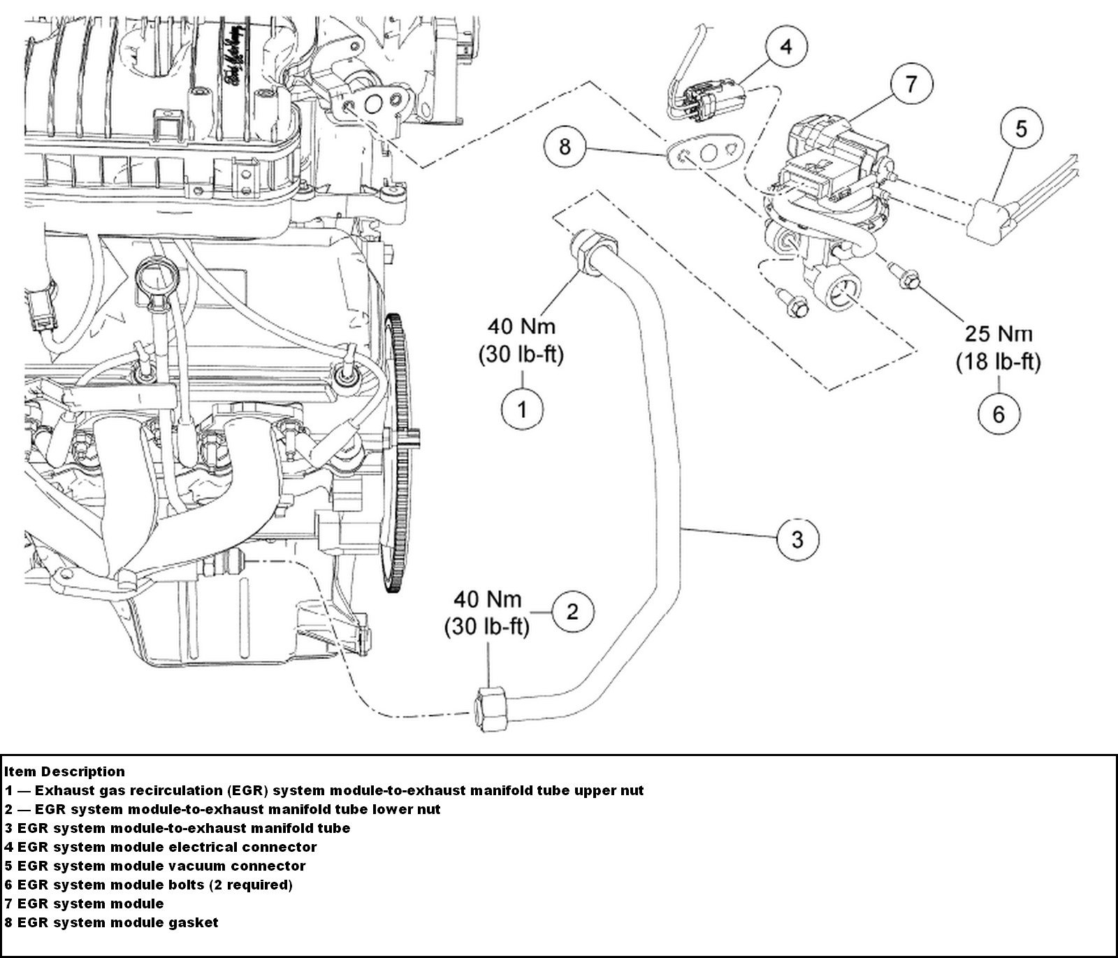 Ford Freestyle Firing Order