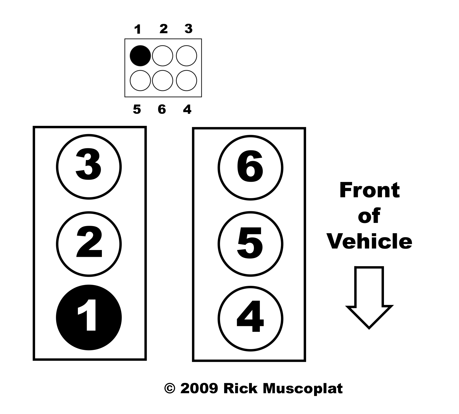 Ford F150 Firing Order 4 6