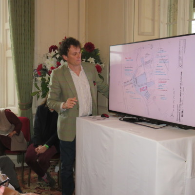 Jon Buck, the architect presenting