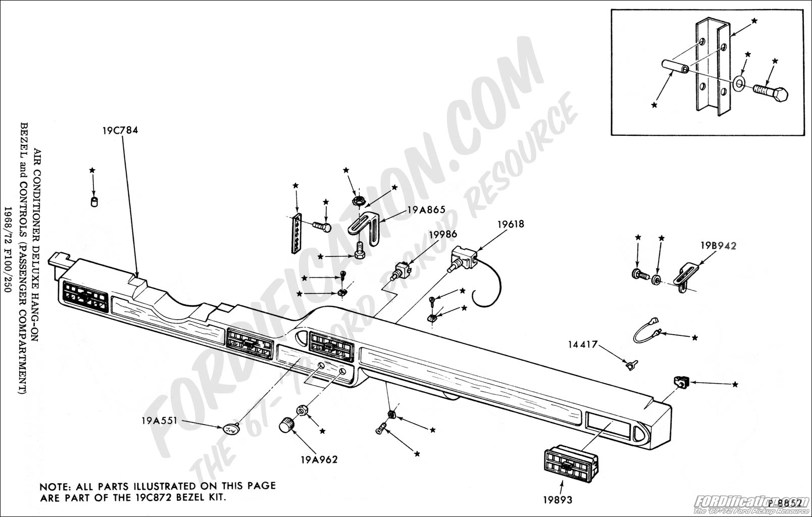 Ford F100 Air Conditioning