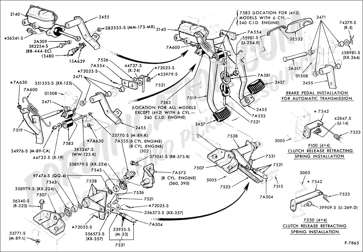 Ford F250 Clutch Diagram