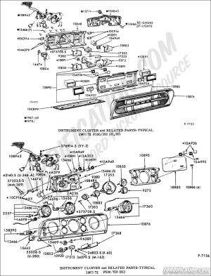Ford Truck Technical Drawings and Schematics  Section I  Electrical and Wiring