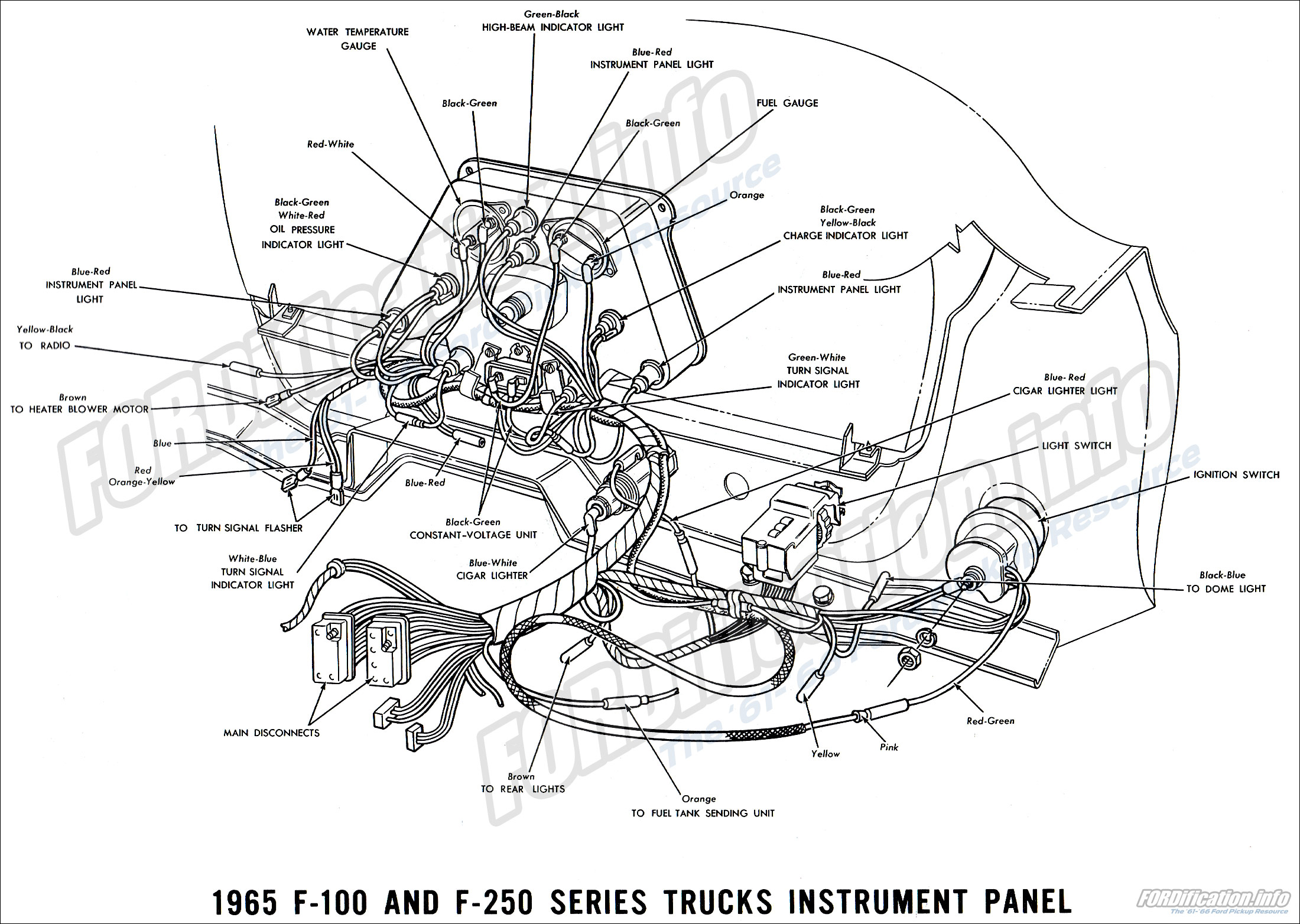 1965 Ford Truck Wiring Diagrams