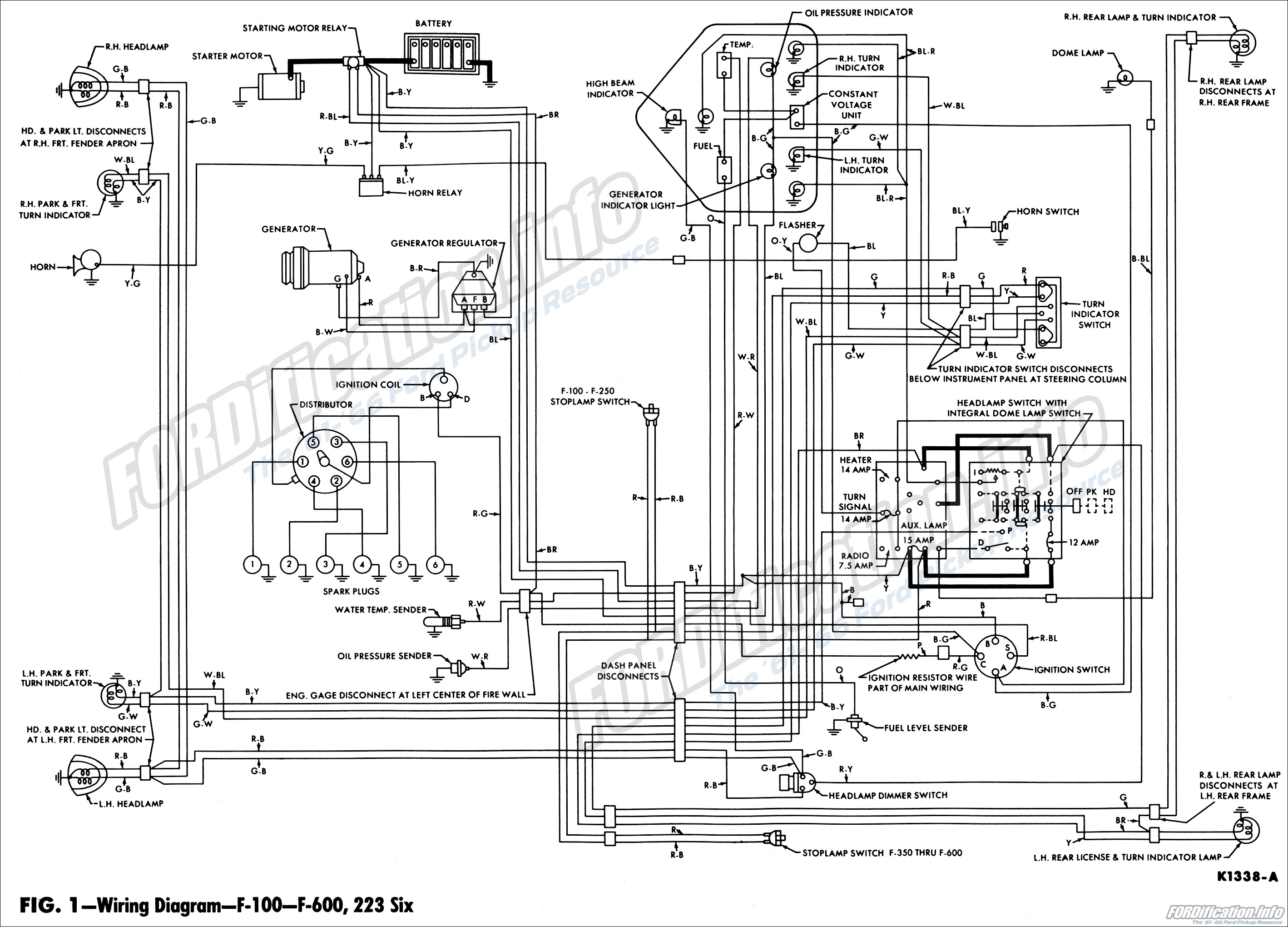 1962 Ford Truck Wiring Diagrams