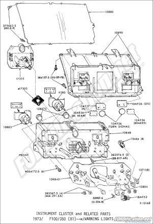 Ford Truck Part Numbers (Instrument Panel)  FORDification