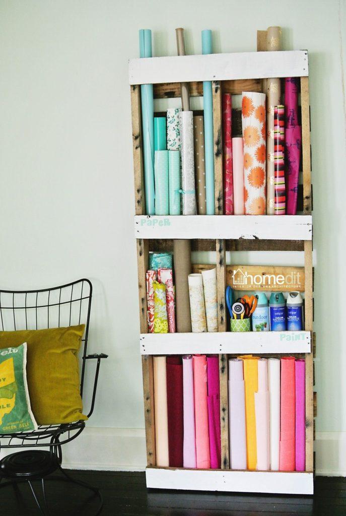 15 Creative Diy Pallet Storage Ideas