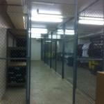 College Athletic Equipment Storage Cage
