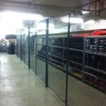 School Athletic Equipment Cage