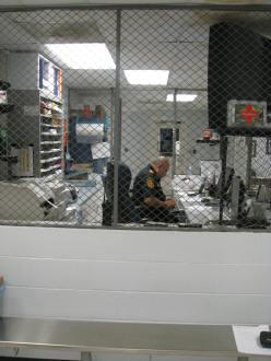 Security Screens - Wire Mesh Partitions