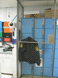 Police Department Cage