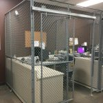 Financial Institution Wire Security Cage