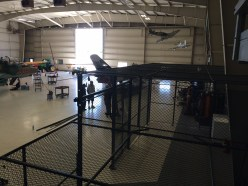 Military Hanger Cage
