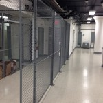 Woven Wire Partitions for Entryways & Hallways