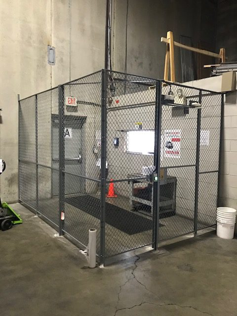 FordLogan Drivers Cage in Warehouse