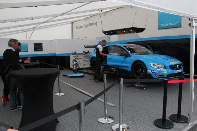 Prins Carl Philip Bernadotte Polestar Cyan Racing bil #13