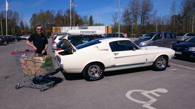 Veckohandla med en Shelby GT500, fordmustangmagazine.com