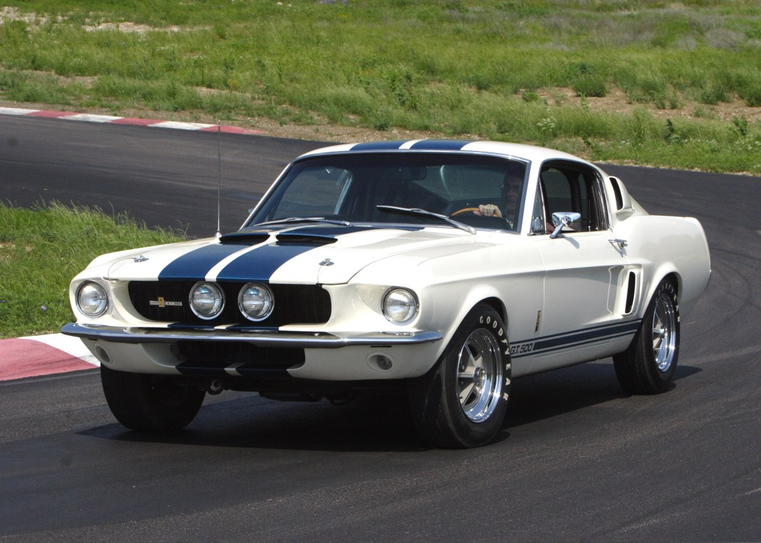 Shelby GT500 as factory equipped 1967