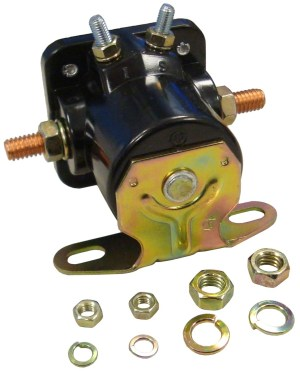 ABC139  12 VOLT STARTER SOLENOID RELAY ASSEMBLY  Ford N