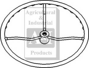 D7NN3600A  Steering Wheel, 15