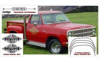 Dodge Li´l Red Express Truck stripes