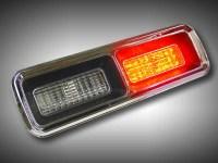 LED baklysen, -67-68 Chevrolet Camaro std