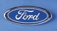 08 10 F250 F350 F450 F550 Blue Oval Grille Emblem - FordPartsOne