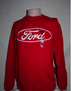 FORD RACING T SHIRT LS RED Image