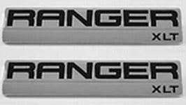 Ford Ranger XLT Fender Emblem Set 2006 2007 2008 - FordPartsOne